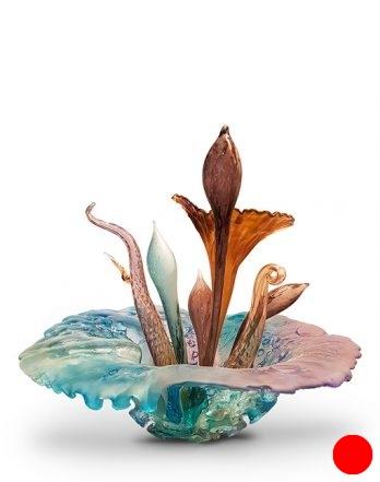 Flower Sculpture Blue
