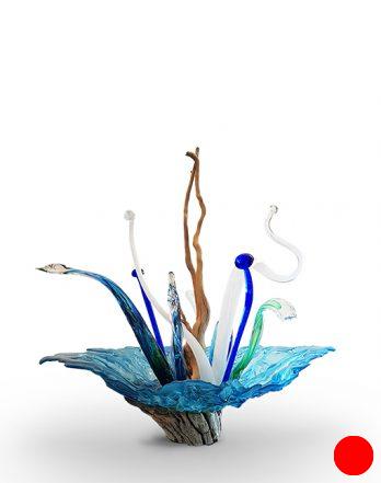 Flower Sculpture Ice